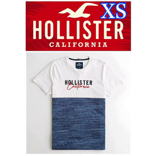 ホリスター(Hollister)の【新品】ホリスター★Hollister★グラフィックTシャツ★XSサイズ(Tシャツ/カットソー(半袖/袖なし))