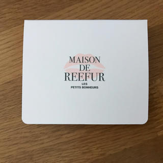 メゾンドリーファー(Maison de Reefur)のメゾンドリーファー 付箋 新品未使用(ノート/メモ帳/ふせん)