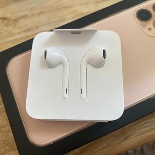 アップル(Apple)のApple イヤフォン(ヘッドフォン/イヤフォン)
