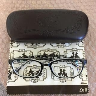 ゾフ(Zoff)のお値下げ‼️ゾフディズニーフレーム ウェリントン型 男女兼用(サングラス/メガネ)