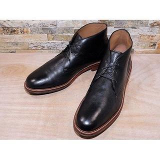 コールハーン(Cole Haan)の超美品 コールハーン プレーントゥチャッカブーツ 黒 30,531cm(ブーツ)