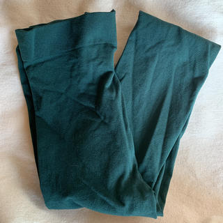 《未着用》GU タイツ(80デニール)深緑 ♪