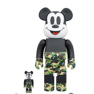 アベイシングエイプ(A BATHING APE)のBE@RBRICK BAPE(R) MICKEY MOUSE 100%&400%(その他)