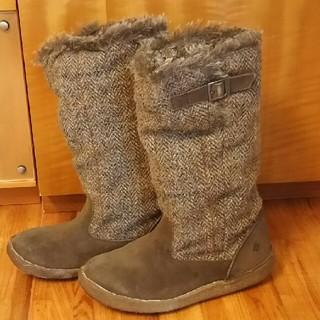 Colombia ハリスツイードのブーツ