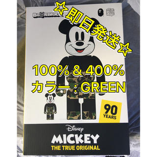 アベイシングエイプ(A BATHING APE)のBE@RBRICK BAPE MICKEY MOUSE 100%  & 400%(その他)