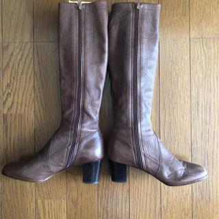 SHIAN ブラウン  ロングブーツ  (ブーツ)