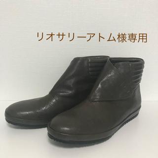 サヤ(SAYA)のサヤ  レザーショートブーツ(ブーツ)