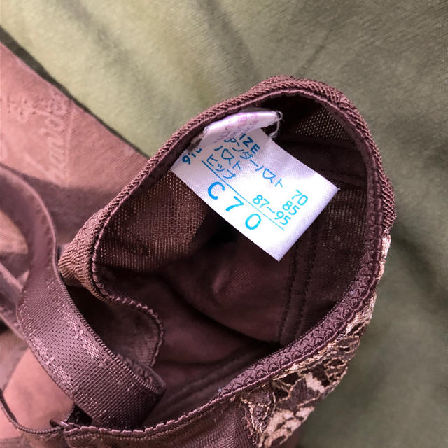 Wacoal(ワコール)のシャンデール 補正下着 C70 ブラウン レディースの下着/アンダーウェア(その他)の商品写真