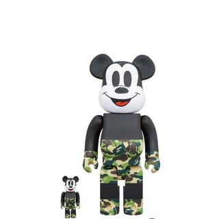 BE@RBRICK BAPE(R) MICKEY MOUSE 100%&400%(その他)