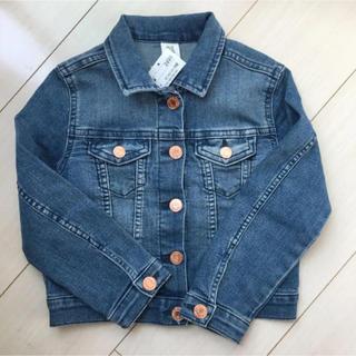 エイチアンドエム(H&M)の新品♡H&M 110 ジージャン デニムジャケット(ジャケット/上着)