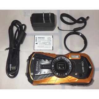 リコー(RICOH)の★ RICOH 防水デジタルカメラ  WG-50 オレンジ (中古) ★ (コンパクトデジタルカメラ)