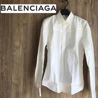 バレンシアガ(Balenciaga)の【訳あり値引き中!】バレンシアガ ドレス シャツ BALENCIAGA Sサイズ(シャツ)