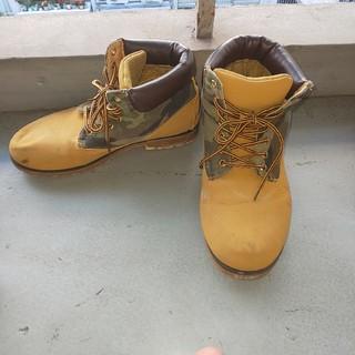 27.5  ブーツ メンズ 迷彩(ブーツ)
