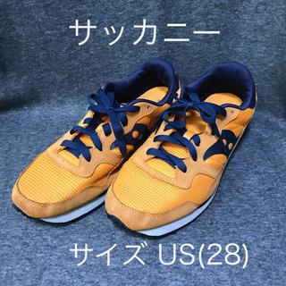 サッカニー(SAUCONY)のサッカニー スニーカー US10(28) オレンジ×ネイビー(スニーカー)