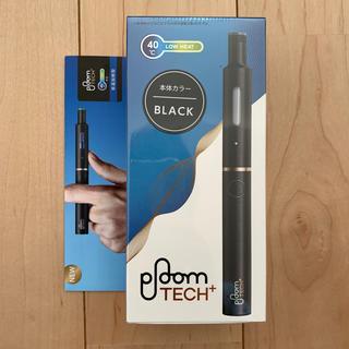 プルームテック(PloomTECH)のプルームテックプラス ブラック 新品(タバコグッズ)