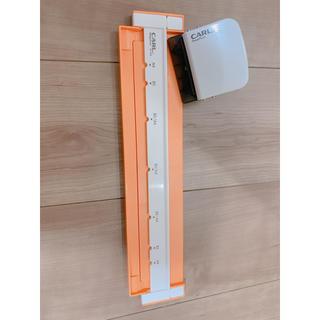 コクヨ(コクヨ)のカール事務器 ルーズリーフパンチ ゲージパンチ・ネオ A4/B5対応 オレンジ (オフィス用品一般)