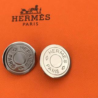 エルメス(Hermes)の美品♡エルメス セリエ イヤリング シルバー(イヤリング)