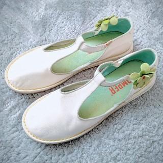 カンペール(CAMPER)のCAMPER ワンポイントフラットシューズ(ローファー/革靴)