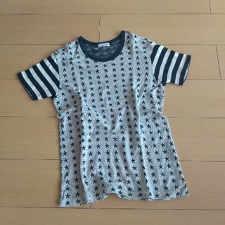 ラッドミュージシャン(LAD MUSICIAN)のLad musician 星柄カットソー Tシャツ ニット(Tシャツ/カットソー(半袖/袖なし))