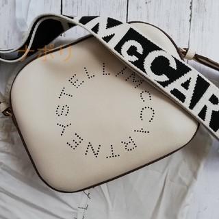 ステラマッカートニー(Stella McCartney)のステラマッカートニー ステラロゴ ホワイトショルダーバッグ(ショルダーバッグ)