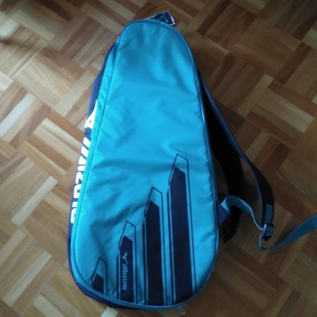 MIZUNO(ミズノ)のミズノ 6本入れラケットバック スポーツ/アウトドアのテニス(バッグ)の商品写真