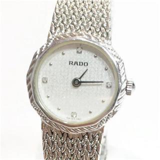 ラドー(RADO)のRADO ラドー 4Pダイヤ文字盤 クォーツ時計 18606952(腕時計)