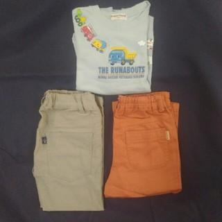 サンカンシオン(3can4on)の美品 ズボン、トレーナー、120 3点セット(パンツ/スパッツ)