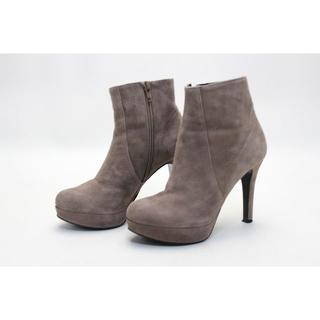 ダイアナ(DIANA)のDIANA 本革ショートブーツ(22cmUL)美品(ブーツ)