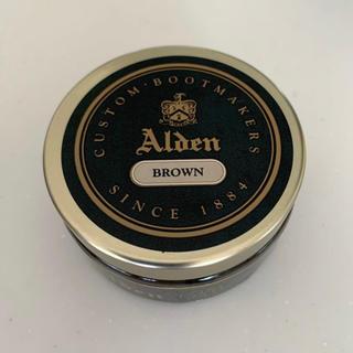 オールデン(Alden)の新品・送料込み オールデン純正 ファイン ペースト ワックス BROWN(その他)