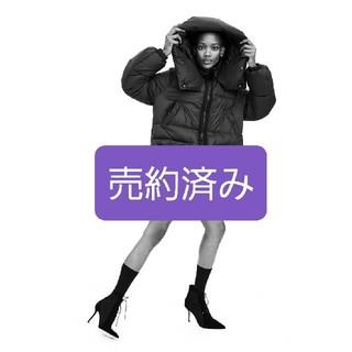 ザラ(ZARA)の新品【ZARA】ダウンコート パフコート Mサイズ ソロナデュポンコート(ダウンコート)