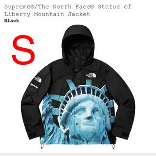シュプリーム(Supreme)のS Statue of Liberty Mountain Jacket ブラック(マウンテンパーカー)