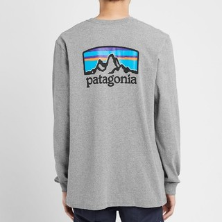 パタゴニア(patagonia)のXSサイズ PATAGONIA LONG SLEEVE FITZ ROY HOR(Tシャツ/カットソー(七分/長袖))