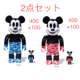 アベイシングエイプ(A BATHING APE)のBAPE BE@RBRICK MICKEY MOUSE 400+100(その他)