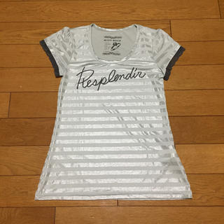 ミッシュマッシュ(MISCH MASCH)のMISCH MASCH半袖ラメTシャツ(Tシャツ(半袖/袖なし))