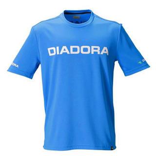 ディアドラ(DIADORA)の【DIADORA】新品未使用 スポーツウェア トレーニングシャツ 水色 Lサイズ(ウェア)