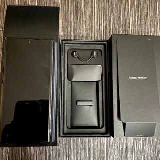 ギャラクシー(Galaxy)のGALAXY note10+ ブラック au 純正カバー(スマートフォン本体)