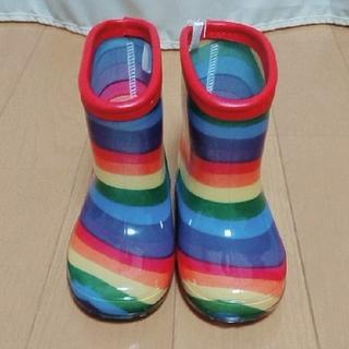 しまむら - カラフルレインボーブーツ.長靴
