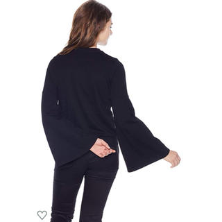 ダブルスタンダードクロージング(DOUBLE STANDARD CLOTHING)のダブルスタンダードクロージング 袖ボリューム 裏毛 スウェット トレーナー(トレーナー/スウェット)