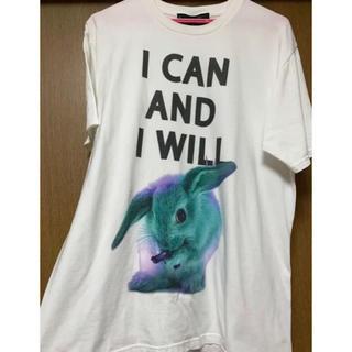 ミルクボーイ(MILKBOY)のMILKBOY ミルクボーイ GANG RABBIT TEE ホワイト XL(Tシャツ/カットソー(半袖/袖なし))