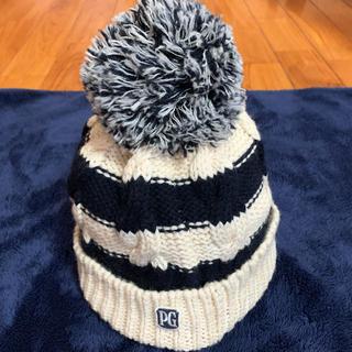 パーリーゲイツ(PEARLY GATES)のpearly gatesニット帽 毛100%(ニット帽/ビーニー)