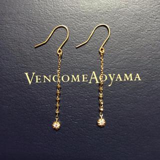 ヴァンドームアオヤマ(Vendome Aoyama)の現行品 ヴァンドーム 青山 シャンパンカクテル ピアス K18 ダイヤモンド(ピアス)