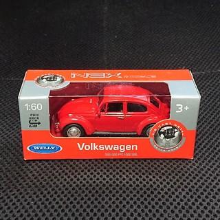 フォルクスワーゲン(Volkswagen)のフォルクスワーゲン ビートル WELLY NEX ミニカー チョロQ(ミニカー)