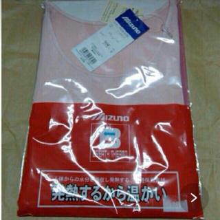 ミズノ(MIZUNO)の7分袖シャツ Mサイズ 女性用 ブレスサーモミズノ(アンダーシャツ/防寒インナー)