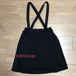 ジエンポリアム(THE EMPORIUM)のスカート  黒(ミニスカート)