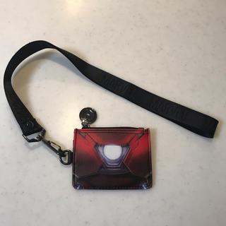 MARVEL - マーベル アイアンマン コインケース カードケース ストラップ