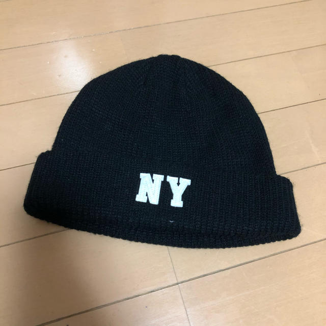 BROWNY(ブラウニー)のニット帽 黒 レディースの帽子(ニット帽/ビーニー)の商品写真