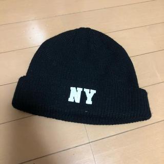 ブラウニー(BROWNY)のニット帽 黒(ニット帽/ビーニー)