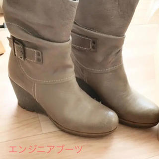 ムーリンセン(mulinsen)のムーリンセン   シャーリングデザインブーツ  25cm(ブーツ)