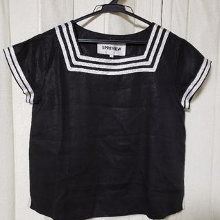 5PREVIEW リネンブラウス(Tシャツ(半袖/袖なし))