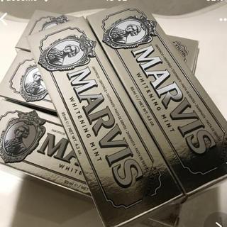 マービス(MARVIS)のマービス  歯磨き粉  ホワイトミント  5本セット(歯磨き粉)